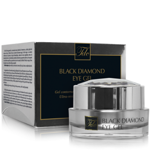 Envase Black Diamond Eye Gel, ultra-revitalizante para el contorno de ojos