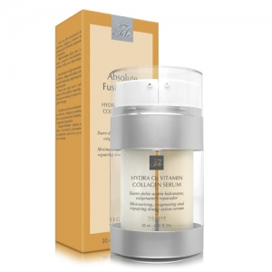 Envase Hydra 02 Vitamin Collagen, suero facial de doble acción