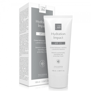 Envase Hydration Impact SPF 15, crema facial para climas extremos