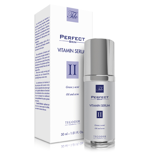 Envase Perfect Skin Vitamin Serum, suero facial intensivo
