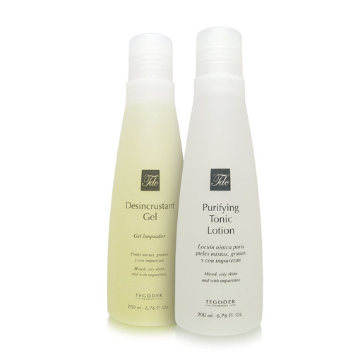 Envases del Purifying Cleansing Pack de limpieza facial