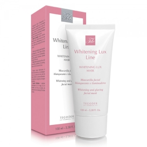 Envase Whitening Lux Mask, mascarilla facial blanqueante
