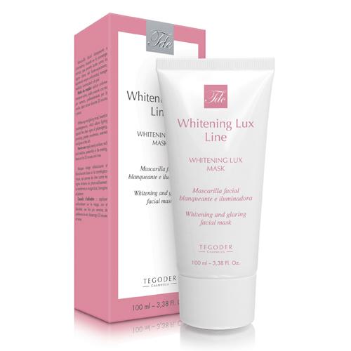 Envase Whitening Lux Mask, mascarilla facial blanqueante