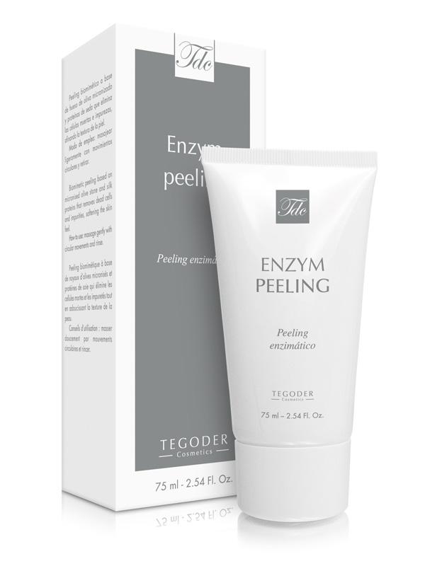 Envase Enzym peeling, crema exfoliante