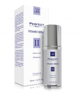 Envase Perfect Skin Vitamin Serum, suero facial intensivo