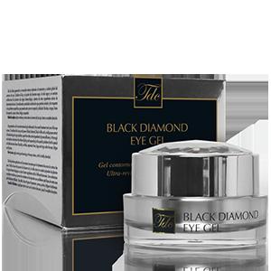 Envase Black Diamond Eye Gel, ultra-revitalizante para el contorno de ojos