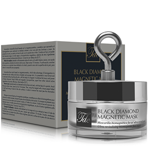 Bodegón Black Diamond Magnetic Mask, mascarilla facial biomagnética