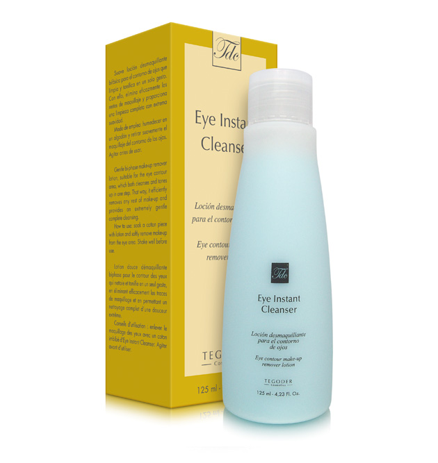 Envase Eye Instant Cleanser, limpiador bifásico