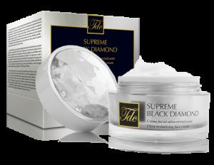 Envase Supreme Black Diamond, crema facial ultra-revitalizante