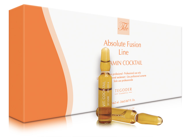 Envase Absolute Vitamin Cocktail, regenerador cutáneo