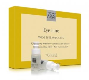 Envase Wide Eyes Ampoules, ampollas efecto tensor