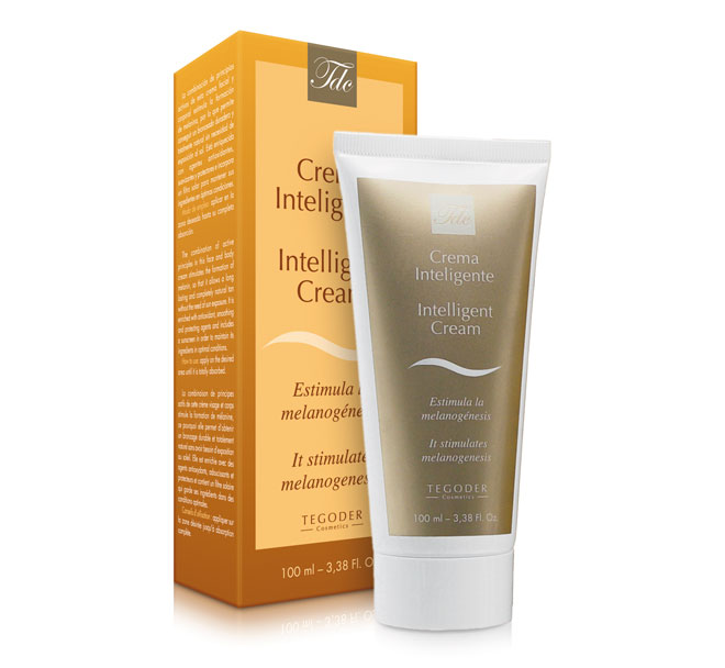 """Envase Crema Inteligente, crema facial y corporal """"sun free"""""""