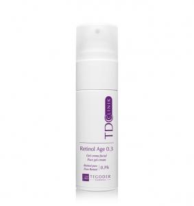 Bote Retinol Age 0.3 TDC Clinik, crema facial concentrada