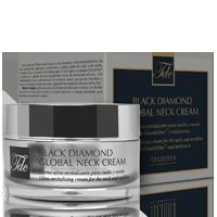 Envase Black Diamond Global Neck Cream, crema ultra-revitalizante para el cuello