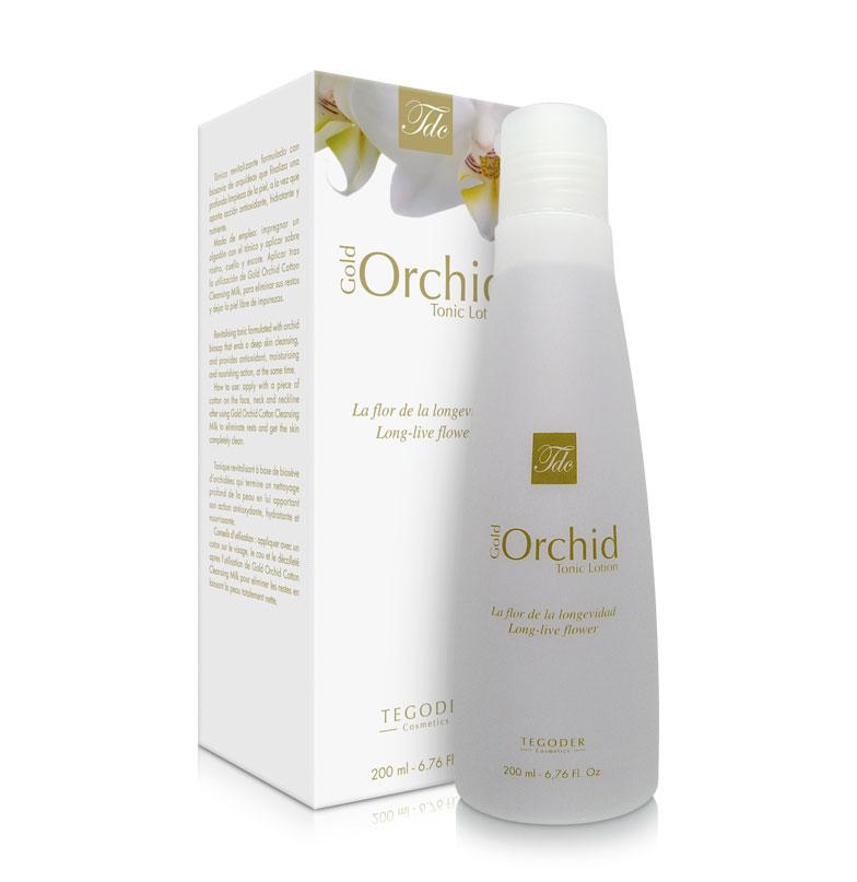 Bote Gold Orchid Tonic Lotion, loción tónica