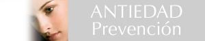 Botón línea Antiedad prevención