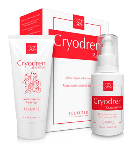 Pack Cryodren, tratamiento corporal circulatorio