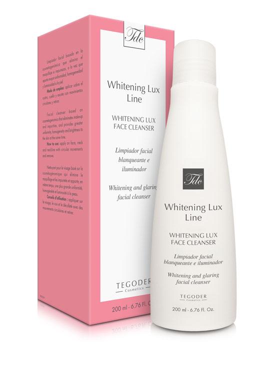 Estuche Whitening Lux Face Cleanser, limpiador facial