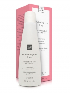 Estuche y bote Whitening Lux Face Tonic
