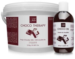 Bodegon de productos Spa choco line de tegoder cosmetics
