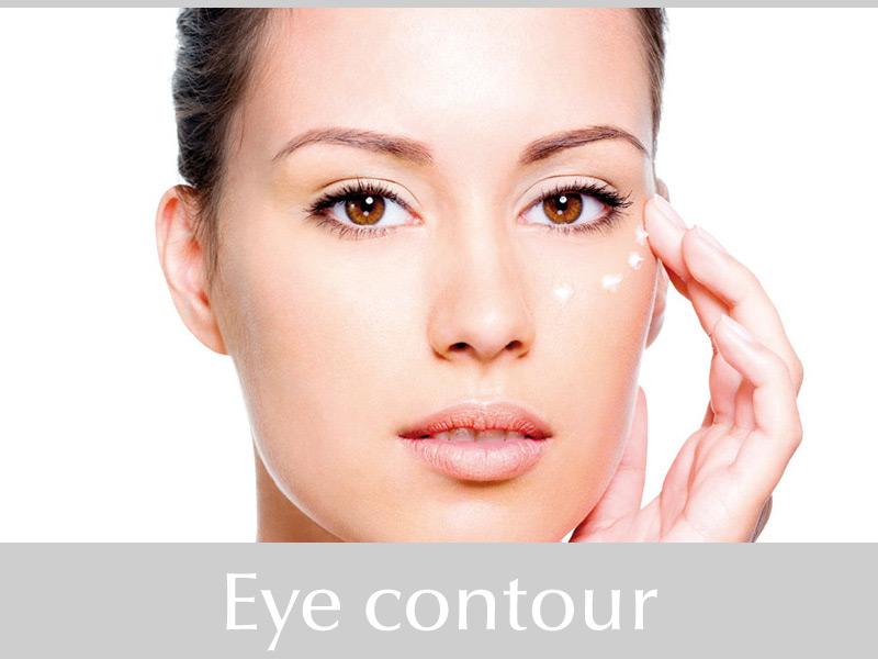Eye contour line