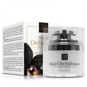Bote con estuche de Black Orchid Moon Face Cream