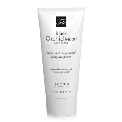 Bote de Black Orchid Moon Face Mask