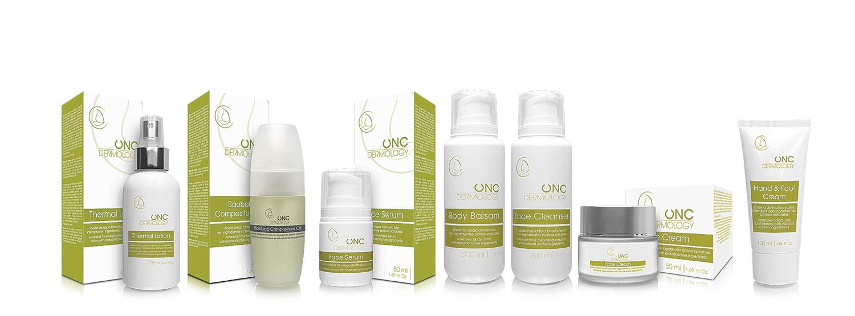 Línea de productos ONC Dermology